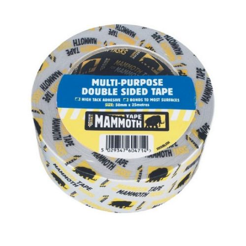 Everbuild 2DOUBLE50 Multi-Purpose Double Sided Tape 50mm x 25m